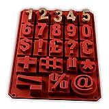 Zahlen Groß 3D Silikon Form