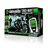 2-Way LCD Motorcycle Alarm Pager with Re...