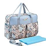 Boomly Mode Mommy Tasche Tragbare Umhängetasche Multifunktion Crossbody Stilvoll Tragetasche Handtasche Wickeltasche für Schwangere (E)