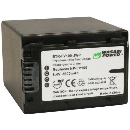 Wasabi-Akku mit Sony NP-FV100 (3900 mAh) kompatibel