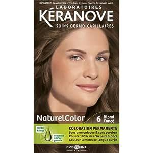 Laboratoires Kéranove - Coloration Permanente - Naturelcolor - 6 Blond Fonce