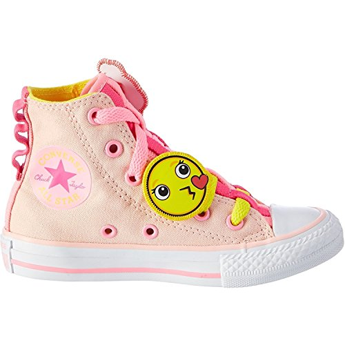 Converse All Star Loopholes, Chaussons montants mixte enfant Vaper Pink