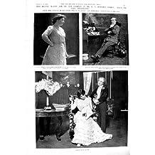 Golf 1901 de Phyllis Dick Chester de Théâtre de Maxine Wlliott Goodwin James Gibbon Frost
