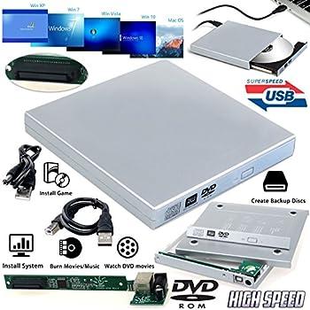 USB 2.0 External Slim Case for Laptop CD/DVD-ROM Drive