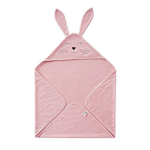 Seventex Reines Organisches Ägäis Baumwolle Baby Handtuch Set, 1 Baby Kapuzenbadetuch / Kapuzenhandtuch / Kapuzentuch / Kapuzen Baby...