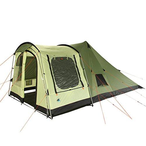 10T Camping-Zelt Tropico 4 Tipi Tunnelzelt Kombi mit Sc…   04260181762838