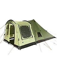 10T Outdoor Equipment - 10t tropico 4 - 4 persona tienda de campaña tipi pirámide con la entrada del túnel, cabina grande ws = 5000mm