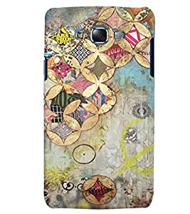 Citydreamz Abstract Colorful Creative Art Hard Polycarbonate Designer Back Case Cover For Samsung Galaxy J7