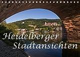 Heidelberger Stadtansichten (Tischkalender 2019 DIN A5 quer): Bilderreise durch die romantische Stadt am Neckar (Monatskalender, 14 Seiten ) (CALVENDO Orte)