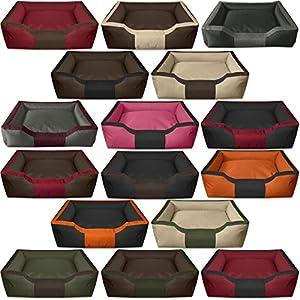 BedDog BRUNO lit pour chien de XL à XXXL, 16 couleurs au choix, coussin de chien, lit pour chien, panier pour chien