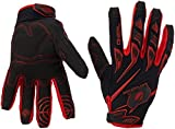 O'Neal Sniper Elite MX Handschuhe Motocross TPR DH Downhill Enduro Offroad Mountain Bike, 0366, Farbe Rot, Größe XL