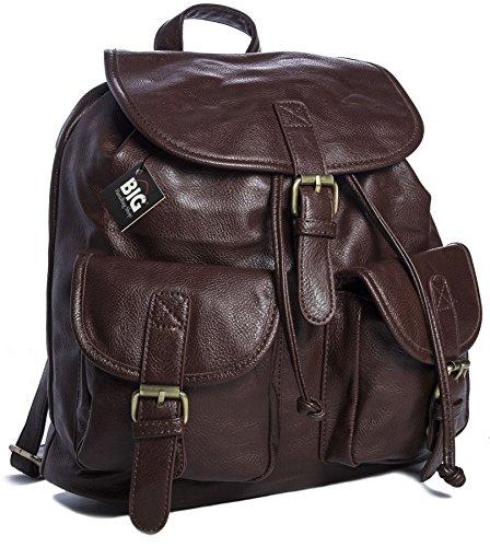 Handbag Big Shop a Zainetto Big Shop unisex Coffee Borsa Handbag Borsa BR352 qE1dq