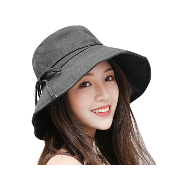 HAPEE Sun Hats for Women,Lovely Summer Ladies Sun Hat Floppy,Packable,uv Protection UPF 50+