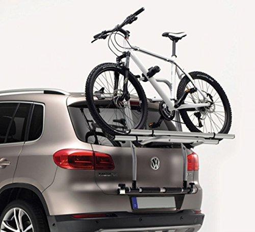 Preisvergleich Produktbild Tiguan Fahrradträger für Heckklappe, Original VW Zubehör, 5N0071104 Heckträger