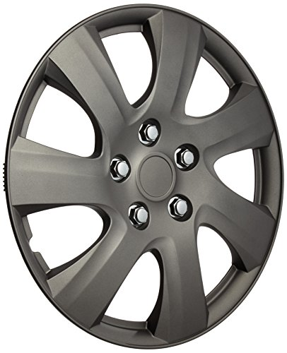 Wheel Covers Jeu denjoliveurs Carolina 16-inch matt-gunmetal
