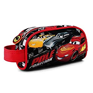 Karactermania Cars 3 Pole Estuches, 20 cm, Negro