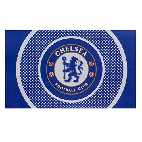 DRAPEAU OFFICIEL FC CHELSEA BE NEUF TAILLE 150X90 CM FOOTBALL PREMIER LEAGUE