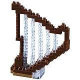 Brixies - 410115 - Jeu de construction 3D-Motif - Harpe