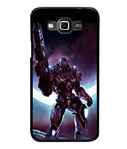 printtech Space Hero Warrior Game Back Case Cover for Samsung Galaxy Grand 3 G720::Samsung Galaxy Grand Max G720