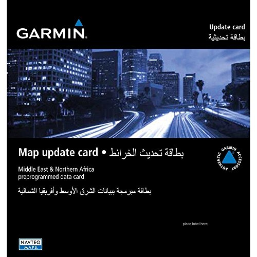 Garmin City Navigator Kartenmaterial Naher Osten und Nordafrika auf microSD/ SD-Karte - 00 Garmin City Navigator