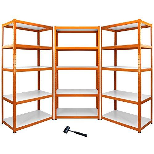 monster-racking-3-scaffali-aqua-rax-resistenti-allacqua-in-acciaio-senza-bulloni-arancione-90cm-x-45