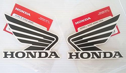 90mm 9cm ORIGINALE HONDA-CBR WING ALA-Bianco/Rosso-adesivi serbatoio