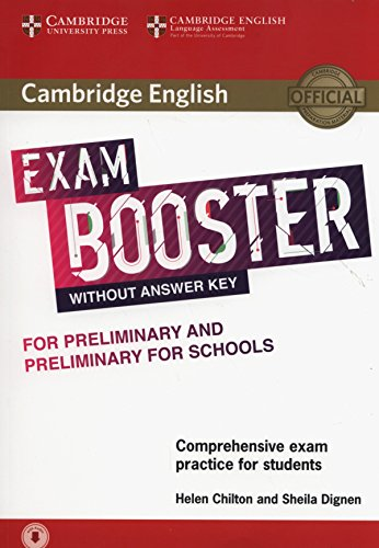 Cambridge English exam. Booster for preliminary and preliminary for schools. Without answer key. Per le Scuole superiori. Con e-book. Con espansione online. Con CD-Audio