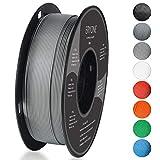 Filament PLA 1.75mm, Eryone PLA Filament 1.75mm, 3D Drucken Filament PLA for 3D Drucker, 1kg 1 Spool, Grau