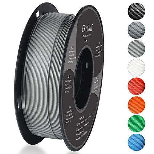 Filamento PLA 1.75mm, Eryone PLA Filamento de PLA para impresiš®n 3D, 1kg 1 Spool£¬Gris