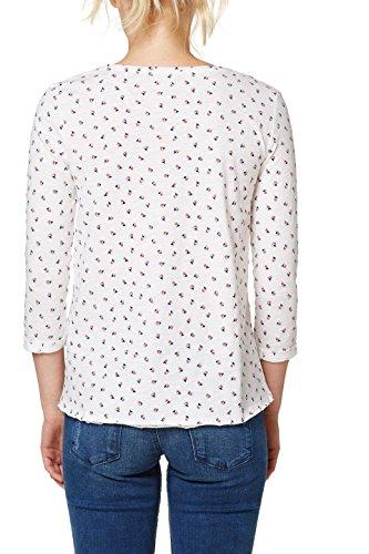 Esprit T-Shirt à Manches Longues Femme Multicolore (Off White 2 111)