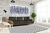Keymura Moderner Teppich mit schönem Druck/Design Schwarz Ornament | Größe: 120x170 cm - Qualität, Design, Modern zu einem Hammerpreis! Für Kinderzimmer, Wohnzimmer, Flur, Schlafzimmer geeignet!
