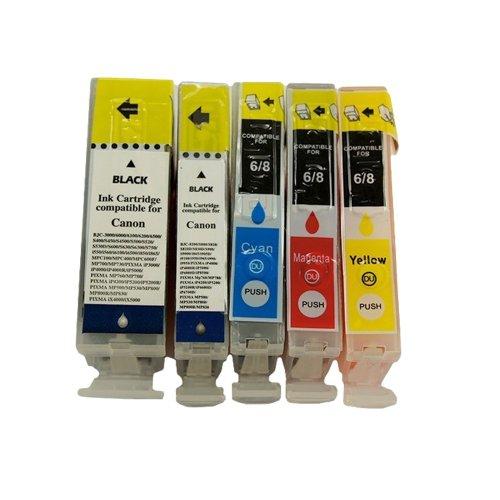 10 Druckerpatronen Tinte für Canon I550 I560 IP3000 IP4000 IP4000R BJC 6000 ersetzen BCI-3 und BCI-6 -