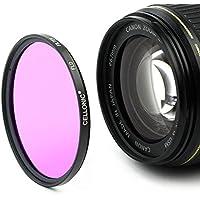 CELLONIC Filtro de Fluorescencia FLD Filtro para Nikon AF-S 24-85mm Nikkor 16-85mm 18-105mm 18-70mm 18-135mm 18-140mm (Ø 67mm)