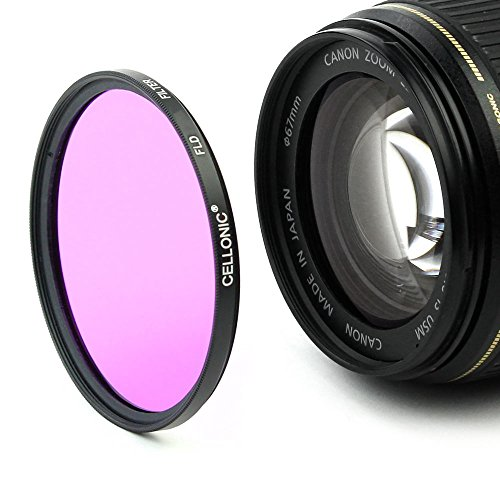 Fluoreszenz Filter FLD für Canon EF 50mm f/1.8 II, EF 40mm 1:2.8 STM EF 35mm FF:2.8 STM, Canon EF-S 24mm f/2.8 STM (Ø 52mm) FD Filter