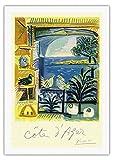 Côte d'Azur - Picasso's Studio Pigeons Velazquez - Vintage