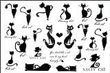 Tatouage temporaire non - toxique imperméable SPESTYLE stickerslatest nouvelle conception de nouveaux hommes et les femmes imperméables temporaires tatouage chaton tatouages temporaires série libération