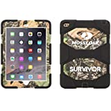 Obsession/Black Survivor All-Terrain in Mossy Oak® Camo + Stand for iPad Air 2
