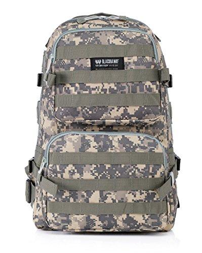D-BAG 30L Militärarmee Patrol MOLLE Tactical Assault Pack Wochenend Rucksack Erwachsene Taktischer Trekkingrucksacke Rucksack Outdoor Wanderrucksäcke