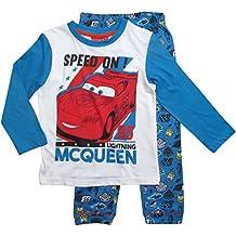 Disney Cars 3 Kollektion 2017 Ökotex Standard 100 Schlafanzug 92 98 104 110 116 122 128 Jungen Pyjama Neu Lang Lightning McQueen Weiß-Blau