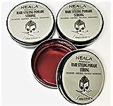 Cera para pelo de hombre - Neala de Fijación Fuerte - Strong - Pack 3 latas x 150ml