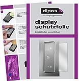 Bauknecht KGN 2043 A3+ IN Schutzfolie - 2x dipos Displayschutzfolie Folie klar