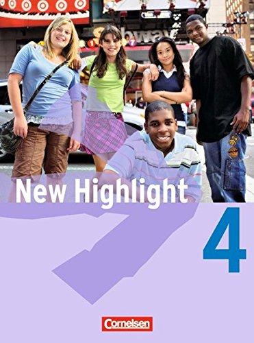 New Highlight - Allgemeine Ausgabe / Band 4: 8. Schuljahr - Schülerbuch,