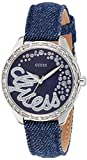 Guess Damen-Armbanduhr Iconic-Time to Give Analog Quarz Verschiedene Materialien W0023L5