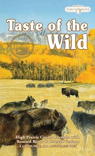 Taste of the Wild Grain Free High Prairie Canine Formula Pet Dog Dry Food 30lbs