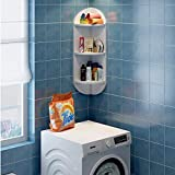 YT-ER Regalablage Gestell Schwimmendes Regal Wandregal Küche Eckabtrennung Schlafzimmerwand Eckregal Wandmontage Wohnzimmerwand 3-Lagenablage Bücherregal Pod Shaped Flower Rack Bath Stacks Tragen Sie