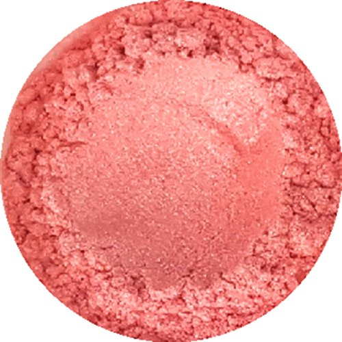 Blushed Pink Cosmetic Mica Powder 3g-20g for Soap, Eyeshadow, Bathbombs (3g)