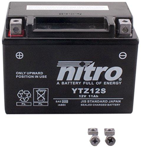 NITRO YTZ12S-N- Batteria Moto AGM chiuso