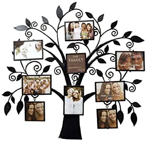 Buy New View Family Tree Metal Collage Frame Online At Low Prices In