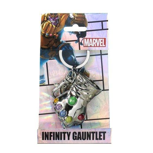 Marvel Thanos Glove Pewter Llavero Monogram