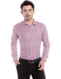 Donear NXG Mens Formal Shirt_SHIRT-1266-RED